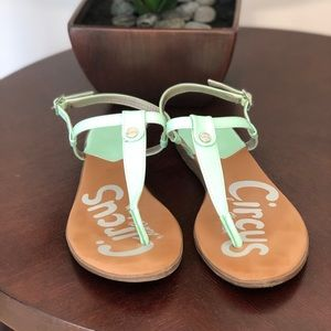 Circus by Sam Eidelman Cayden mint green sandals